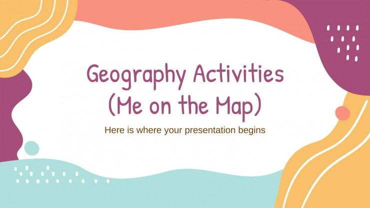 Geographie Aktivitäten (Wo bin ich?) Präsentationsvorlage