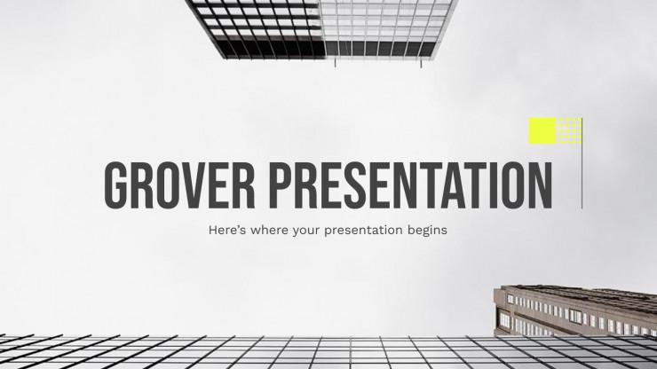 Grover presentation template
