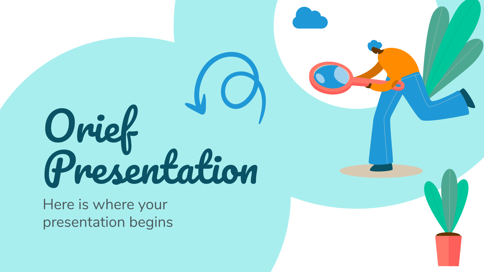 Orief presentation template