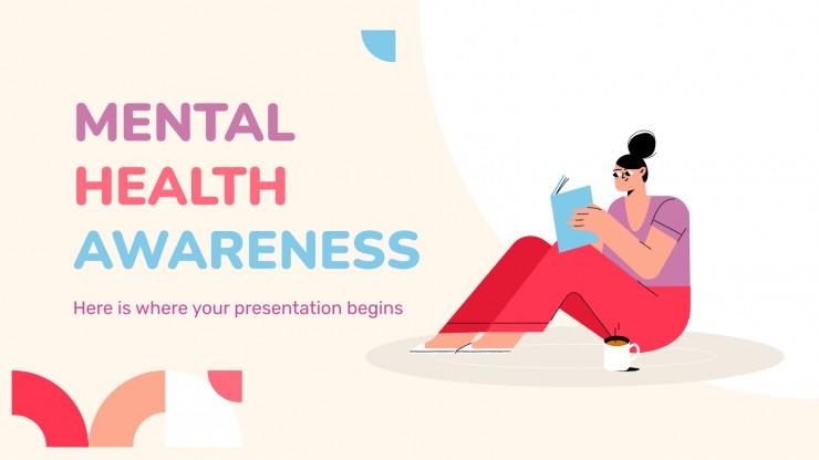 Sensibilisation à la santé mentale : Modèles de présentation