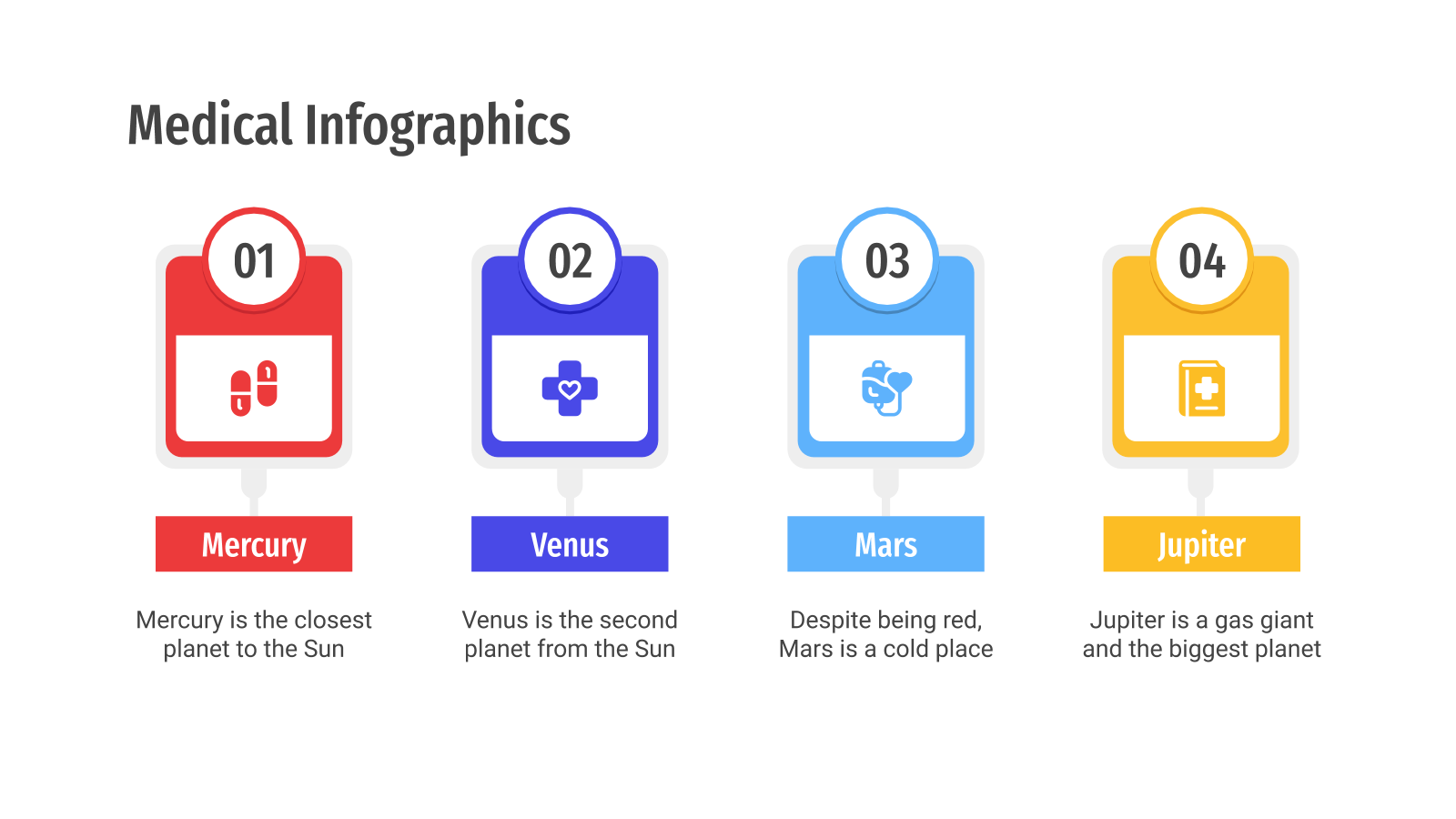 Plantilla de presentación Infografías médicas