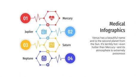 Medical Infographics presentation template