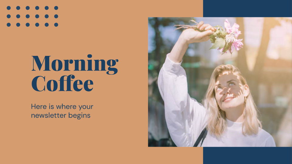 Morning Coffee presentation template
