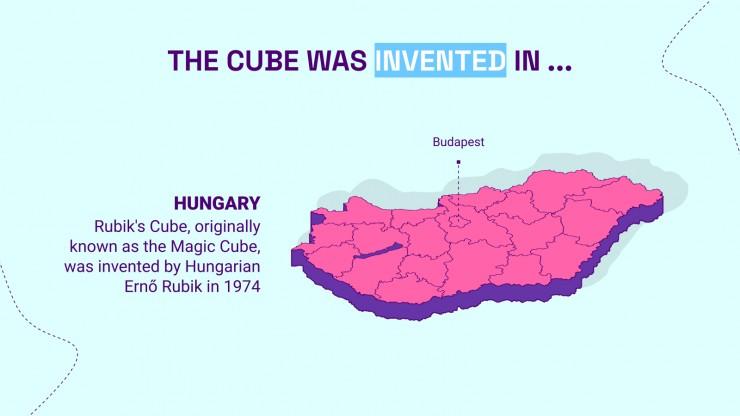 Rubik's Cube Lesson presentation template