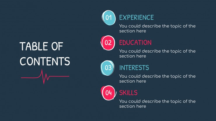 Sketch Doctor CV presentation template