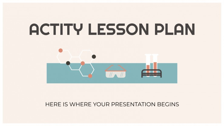 Actity Lesson Plan presentation template
