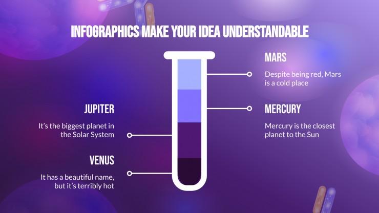 Modelo de apresentação Slides sobre anticorpos