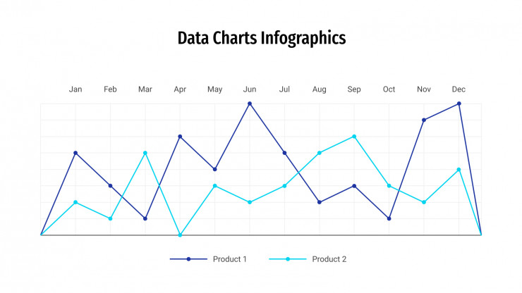 Data Charts presentation template