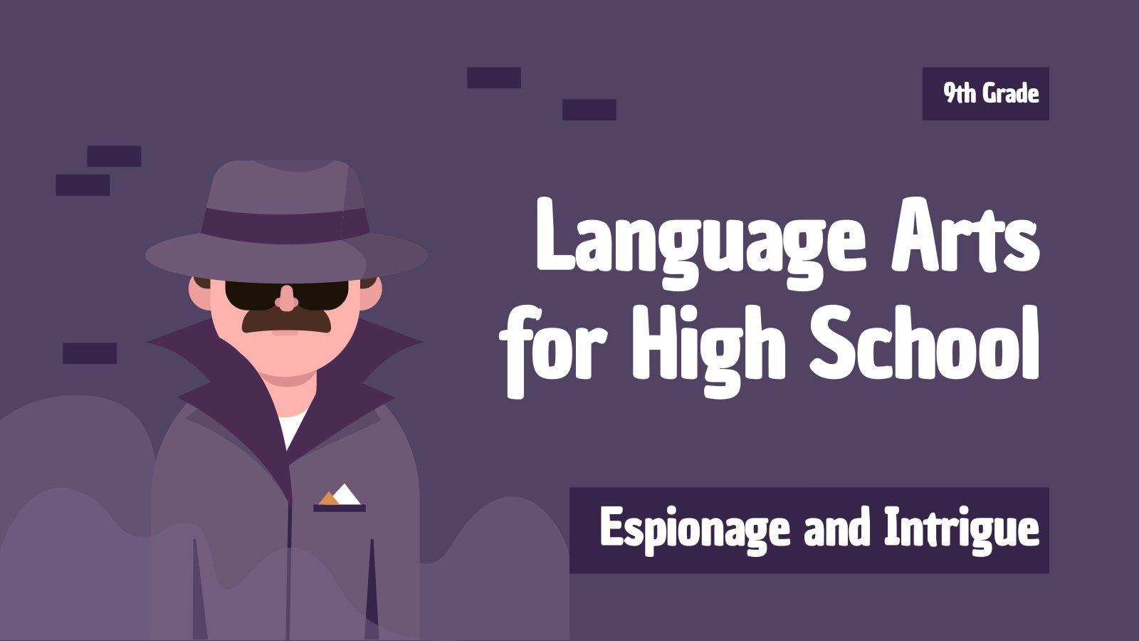 Sprache für 9. Klasse: Spionage und Intrigen Präsentationsvorlage