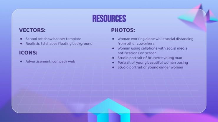 3D Pyramid Style MK Plan presentation template