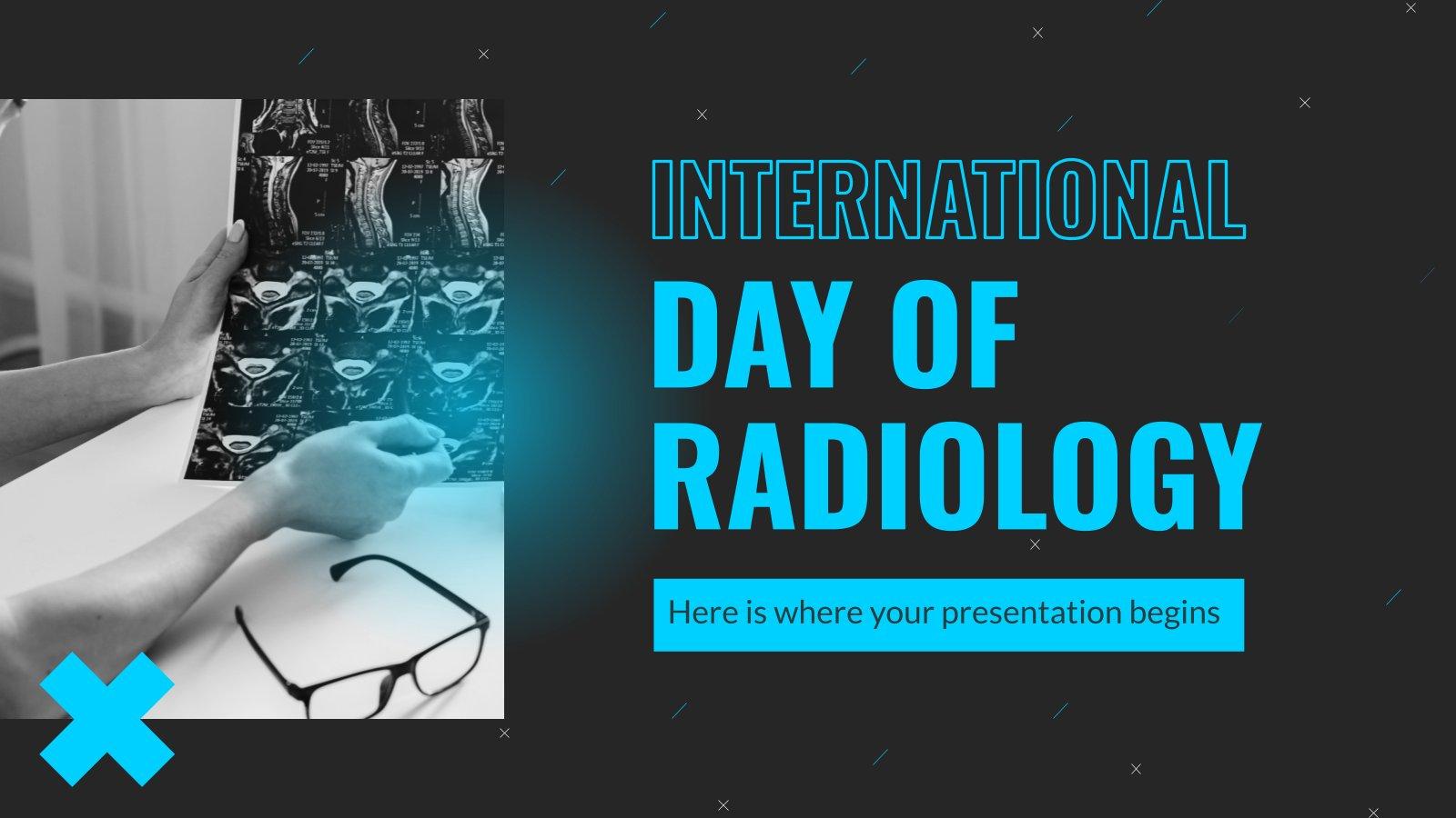 Plantilla de presentación Día internacional de la radiología
