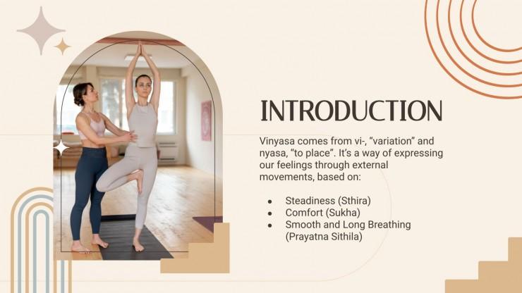 Vinyasa Yoga Workshop presentation template