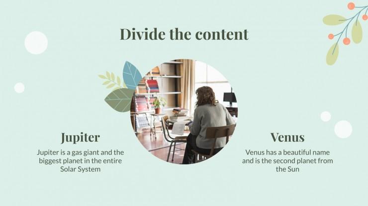Community Helper CV presentation template