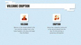 Volcano Minitheme presentation template