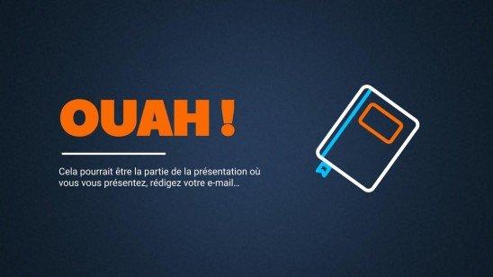 Defense of University Project presentation template