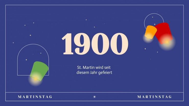 St. Martin's Day presentation template