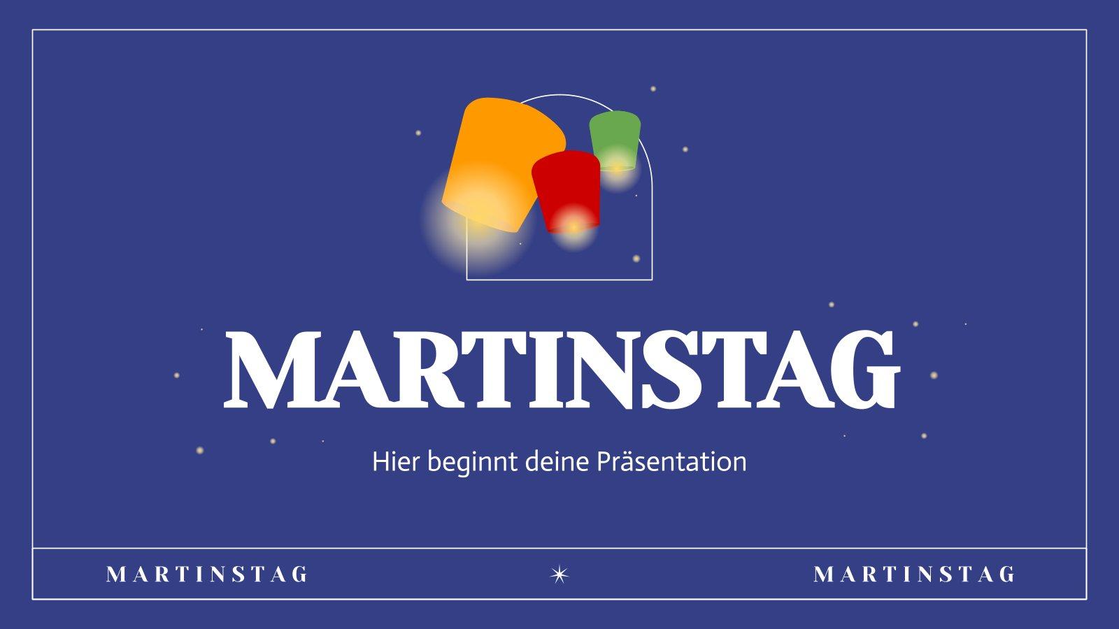 Fête de la Saint Martin : Modèles de présentation