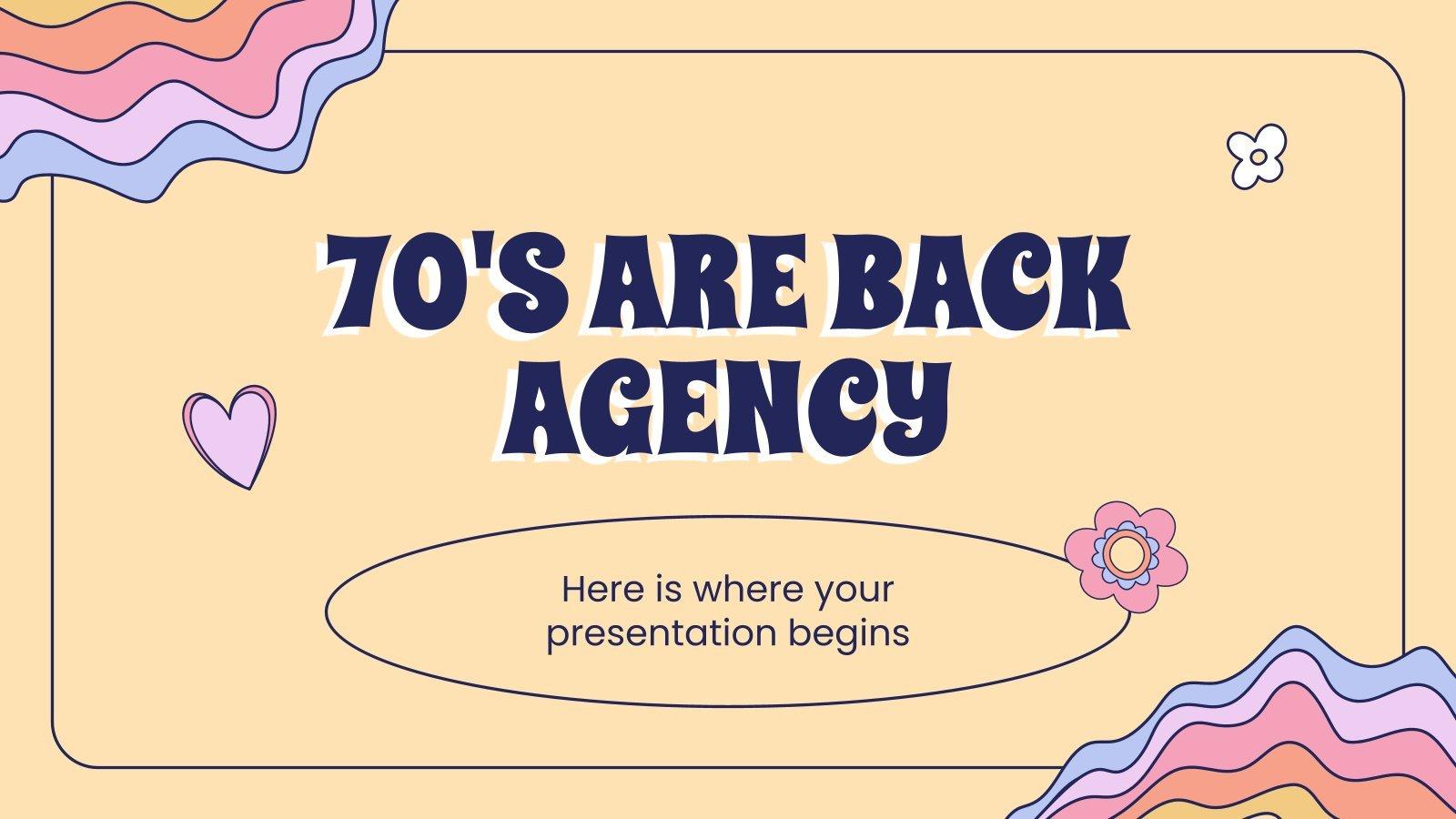 Plantilla de presentación Agencia