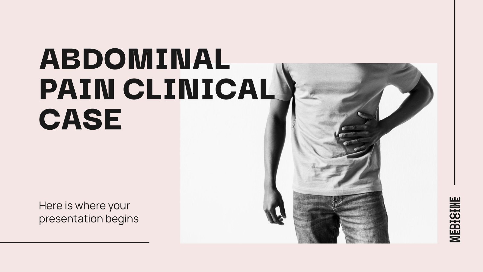 Modelo de apresentação Caso clínico de dor abdonimal
