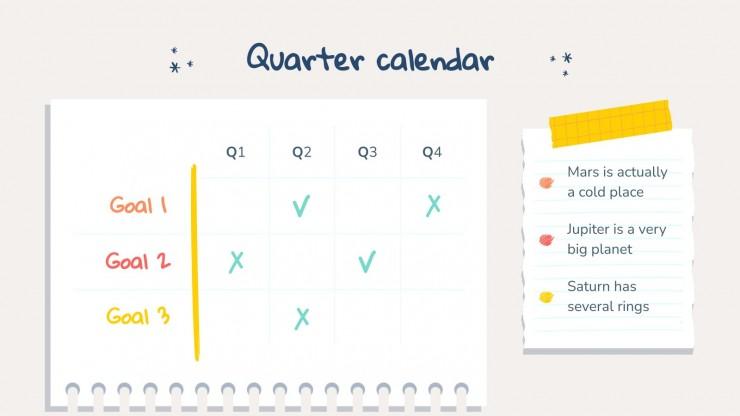 Modelo de apresentação Resoluções de Ano Novo