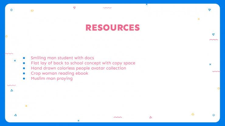 Apprentissage créatif en ligne : Modèles de présentation
