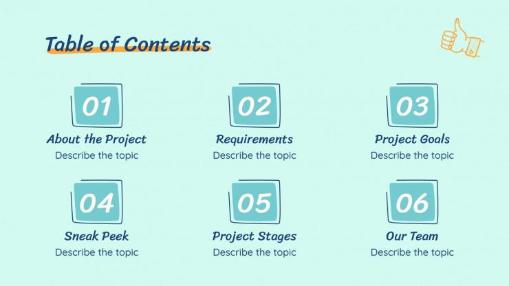 Plantilla de presentación Propuesta de proyecto universitario
