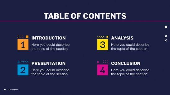 Trivia Night presentation template