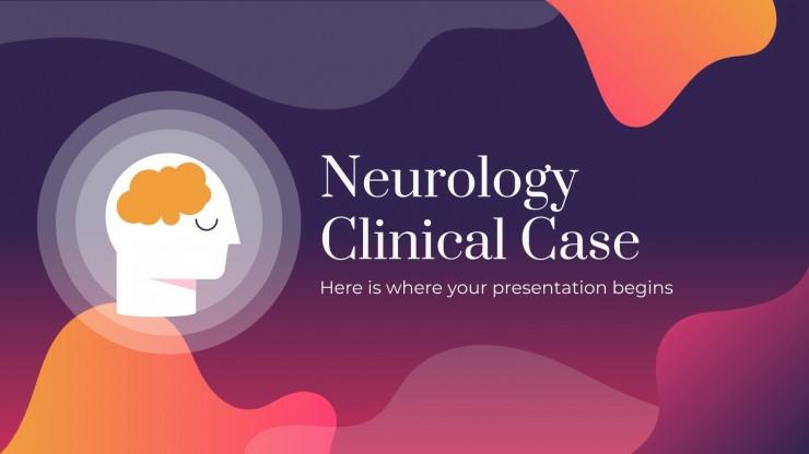 Neurology Clinical Case presentation template
