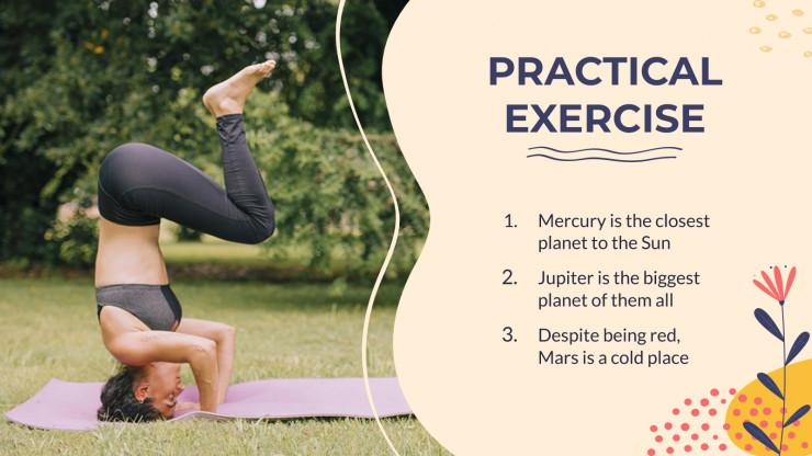 Modelo de apresentação Aula de ioga