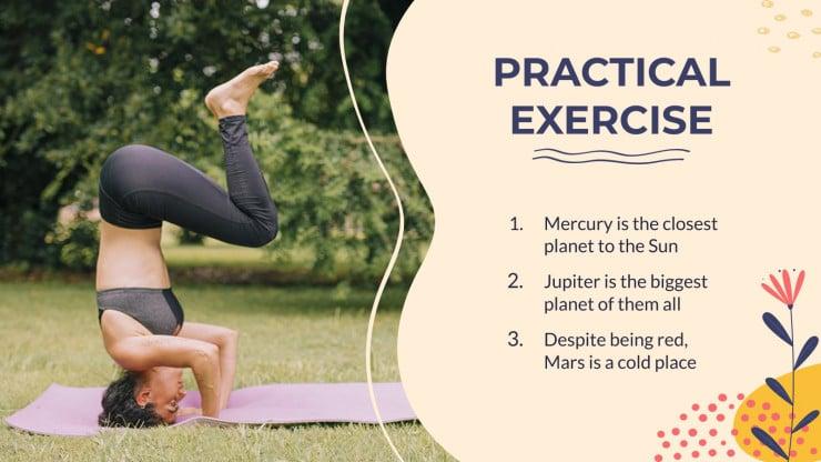Yoga Workshop presentation template