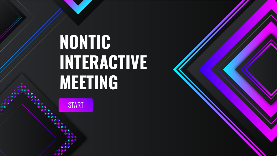 Nontic Interactive Meeting presentation template