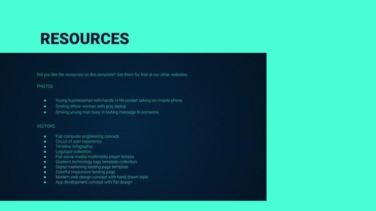 Web Project Proposal presentation template