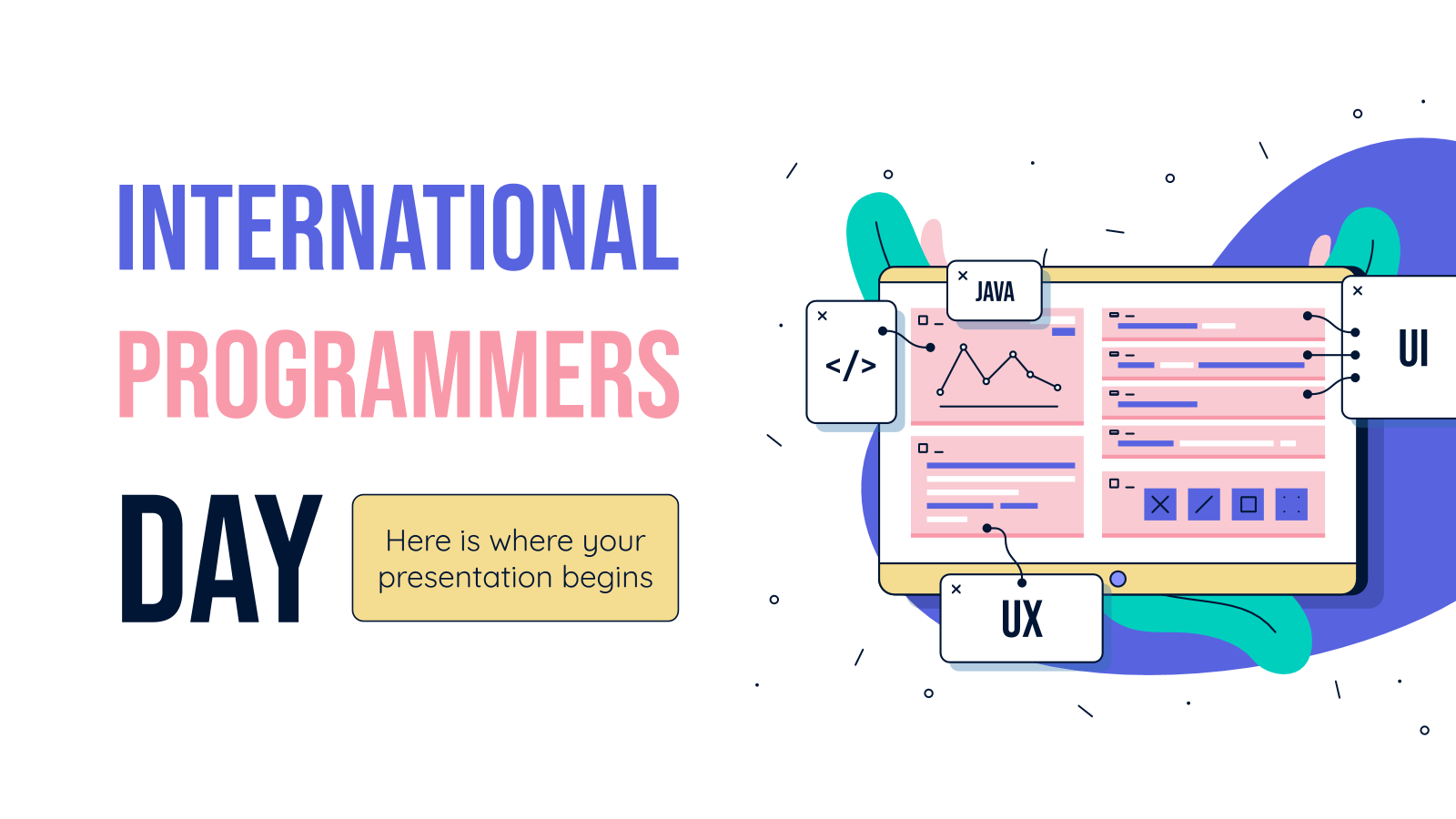 International Programmers Day presentation template