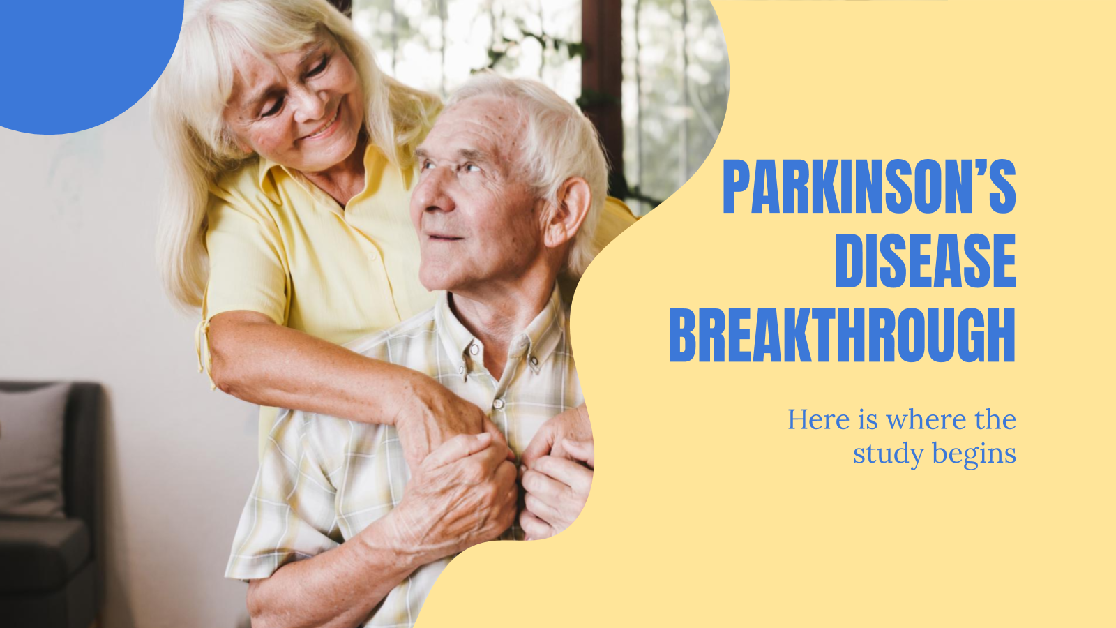 Parkinson's Disease Breakthrough presentation template
