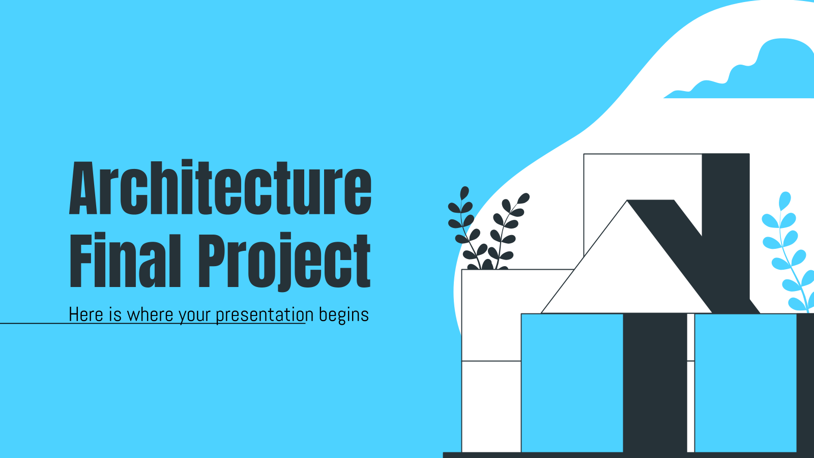Architecture Final Project presentation template