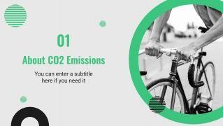 Modelo de apresentação Emissões de CO2 no transporte