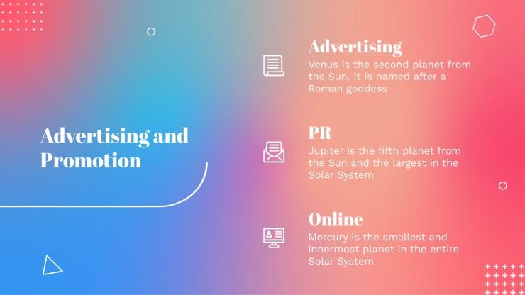 Omega Gradient Business Plan presentation template