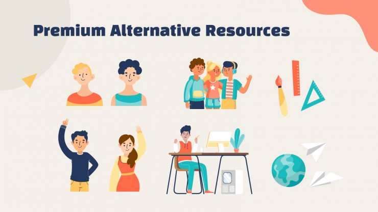Modelo de apresentação Newsletter para docentes