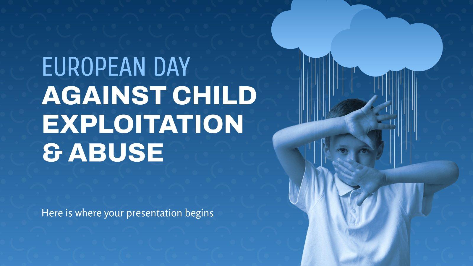 European Day Against Child Exploitation & Abuse presentation template