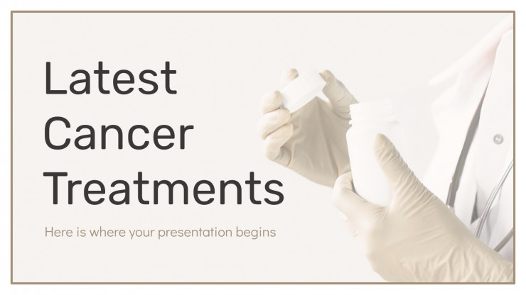 Latest Cancer Treatments presentation template