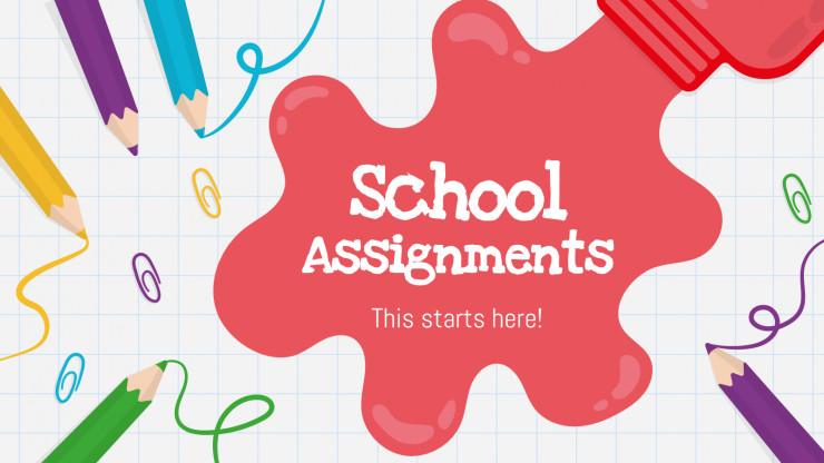 School Assignments