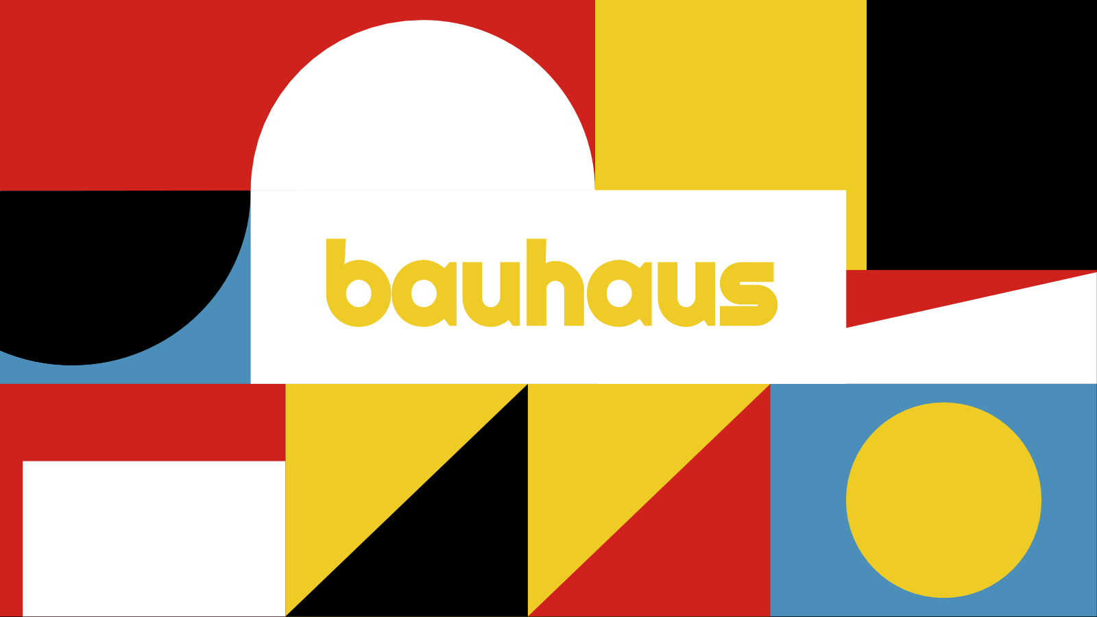 Bauhaus presentation template