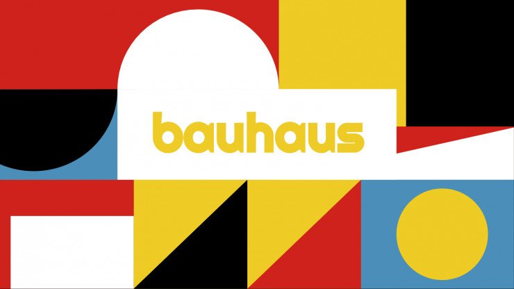 Plantilla de presentación Bauhaus