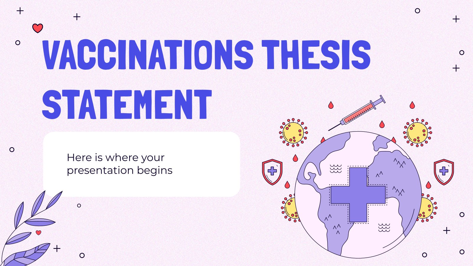 Plantilla de presentación Tesis sobre vacunación