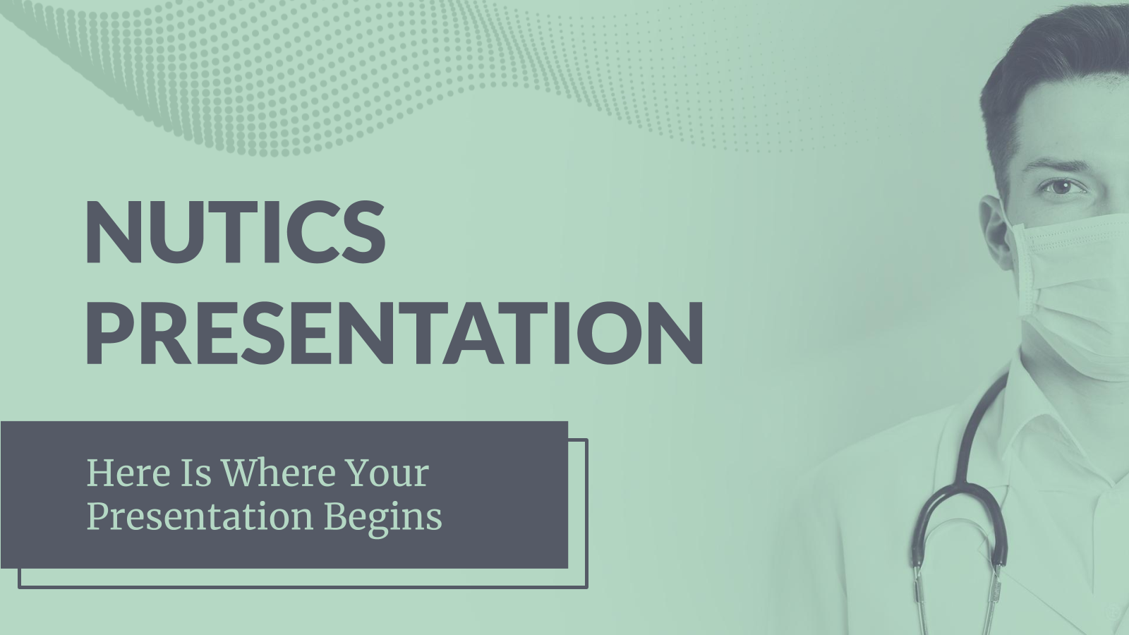 Nutics presentation template