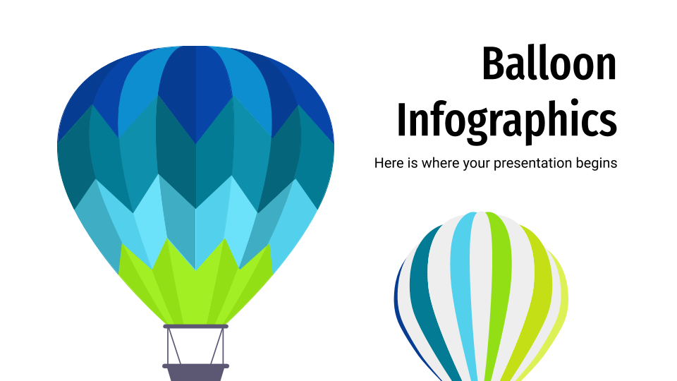 Balloon Infographics presentation template