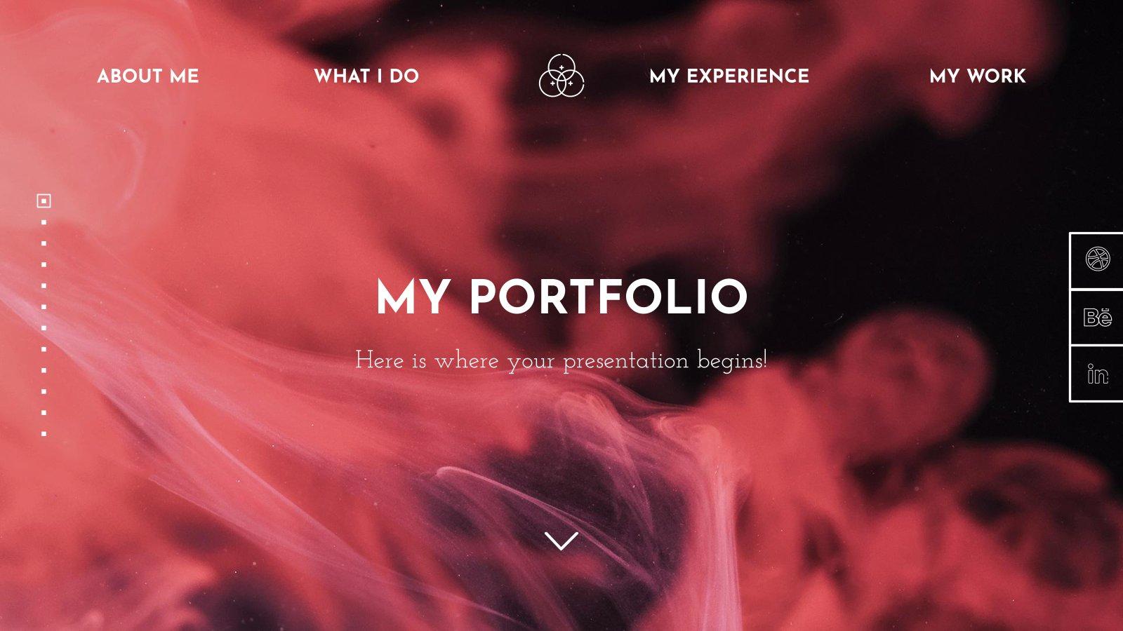 Portfolio de design web : Modèles de présentation