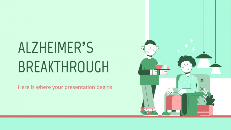 Alzheimer's Breakthrough presentation template