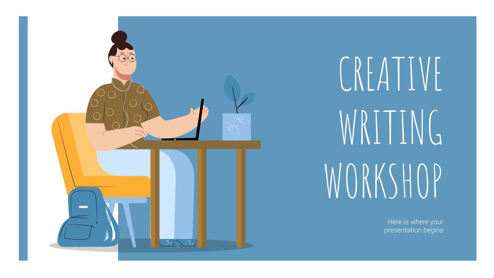 Atelier d'écriture créative : Modèles de présentation