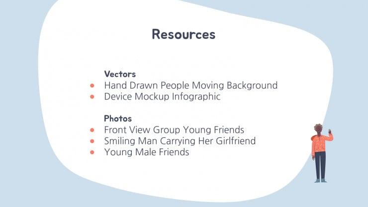 People Pattern presentation template